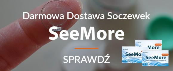 Darmowa dostawa soczewek SeeMore
